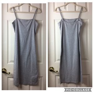 NWT Topshop spaghetti strap t-shirt slip / dress